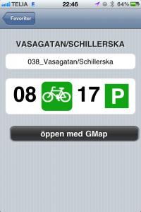 all bikes now - app för Styr & ställ, lånecyklar i göteborg