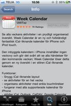 Week Calender app Barribo