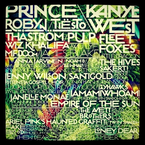 Way out west lineup 2011