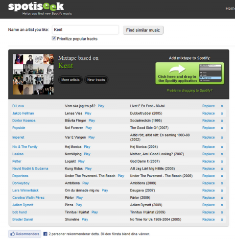 Spotiseek Mixtape Kent - barribo