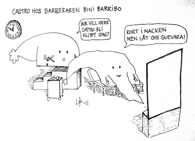 Göteborgsvits - Bini Barribo - Che Guevara