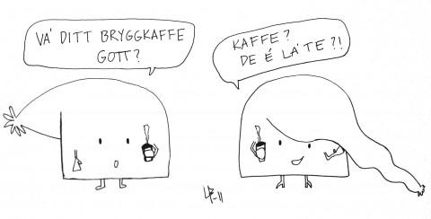 Bini Barribo - Göteborgsskämt - Latte