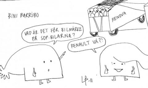Göteborgsvits - Renova - Bini Barribo