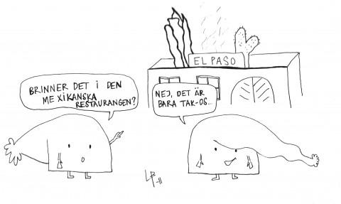 Göteborgsvits - Tacos - Bini Barribo