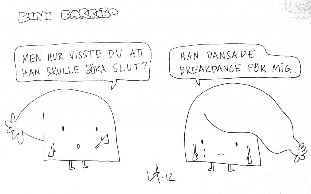 Bini Barribo - Göteborgsvits - Dans