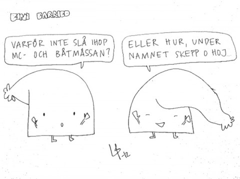 Bini Barribo - Göteborgsskämt - skepp å hoj