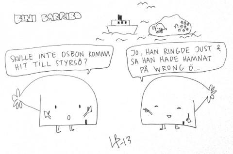 Bini Barribo - Vrångö - Göteborgsvits