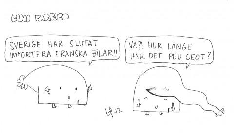 Bini barribo - Peugeot - Göteborgsskämt