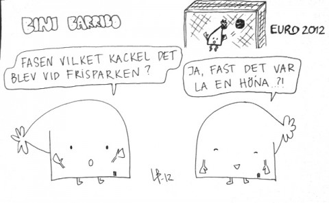 Bini Barribo - Hörna - Göteborgsskämt