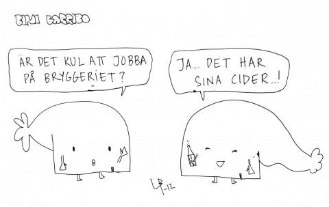 Bini Barribo - Cider - Göteborgsvits