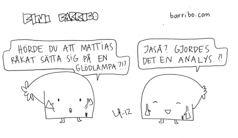 Bini Barribo Göteborgsvits Analys Lina Barryd-20120821