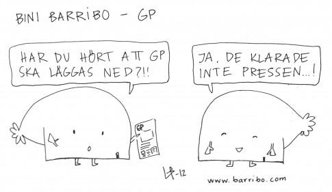 Göteborgsskämt - Bini Barribo - GP