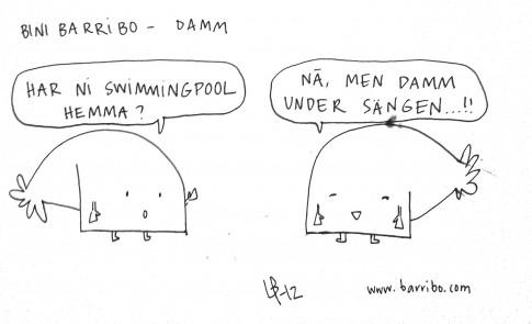 Bini Barribo - Damm - Göteborgsvits