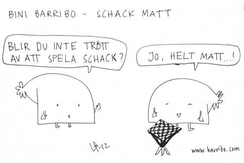 Bini Barribo - Schack matt - Göteborgsvits
