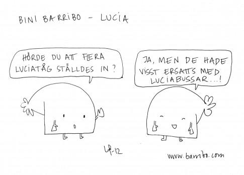 Bini Barribo - Lucia - Göteborgsskämt