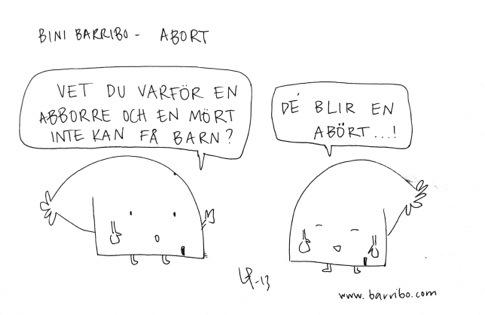 Bini Barribo Göteborgsvits Abort Lina Barryd-20130201