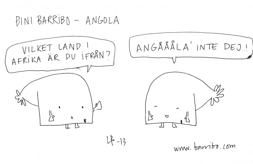 Bini Barribo - Angola - Göteborgsvits