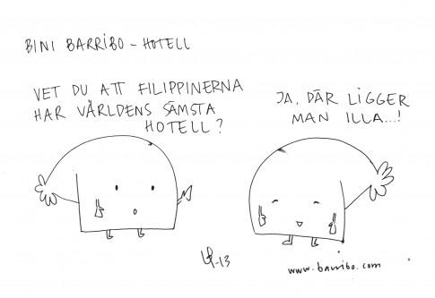 Bini Barribo - Hotell - Göteborgsvits