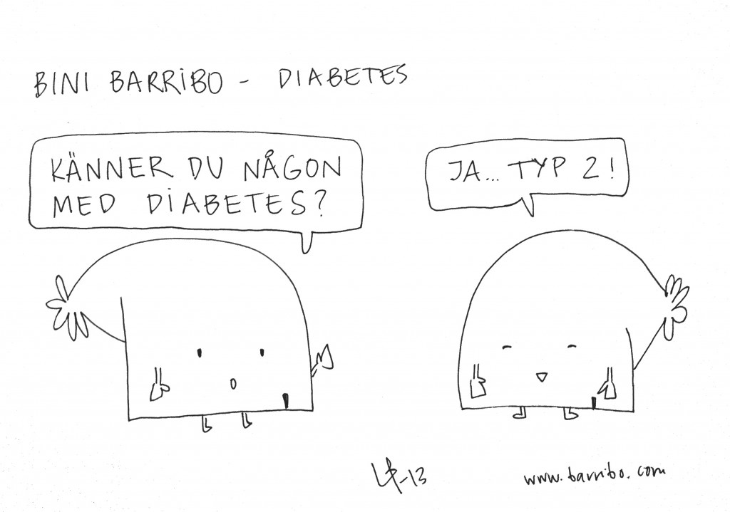 Bini Barribo - Diabetes - Göteborgsvits