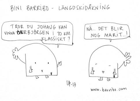 Bini Barribo - Längdskidåkning - Göteborgsvits
