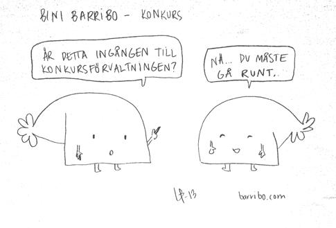 Bini Barribo - Konkurs - Göteborgsskämt