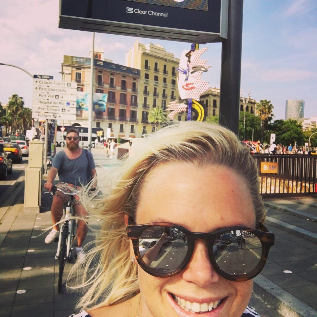 Hyr cyklar - Barcelona Barribo IMG_4258