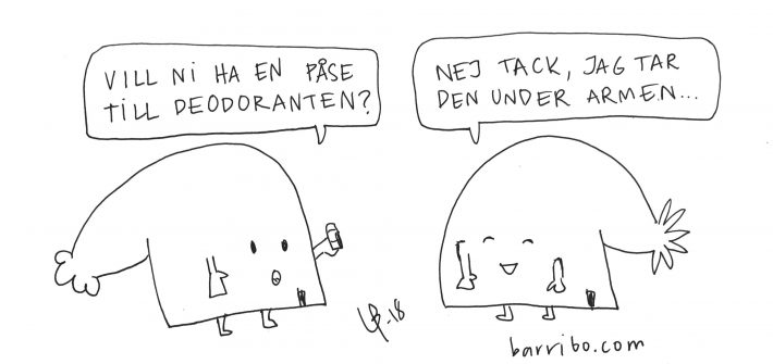 Goteborgsvits - deodorant Bini Barribo