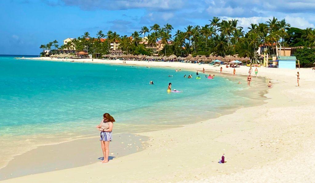 Aruba divi beach