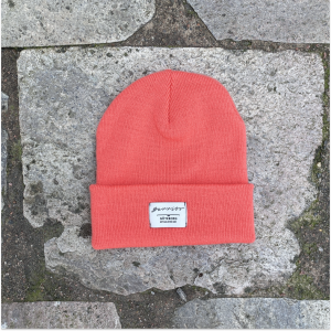 Barribo beanie coral red