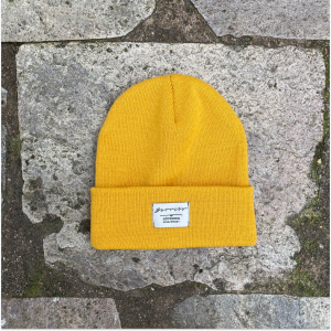 Barribo beanie mustard yellow