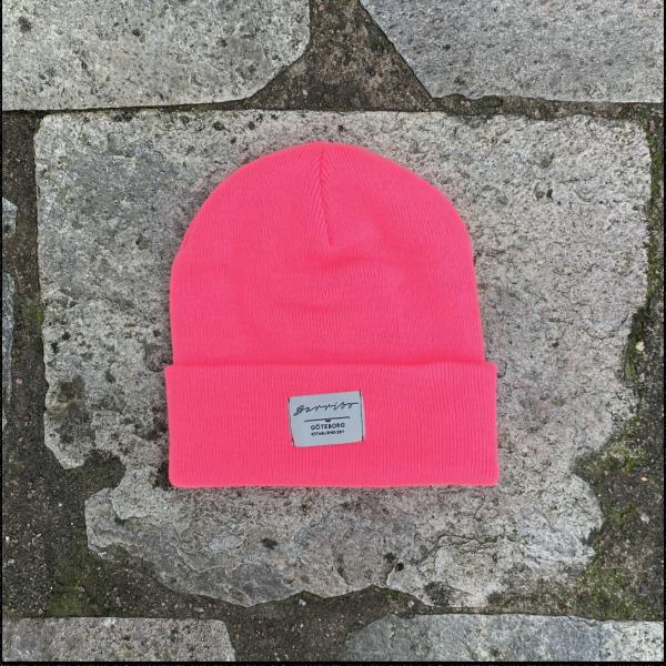 Barribo beanie shock pink