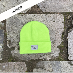 Barribo beanie shock yellow junior